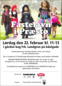 Fastelavn i Præstø den 22. februar