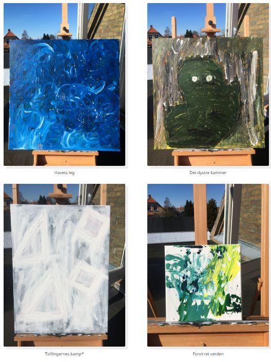 NORDIC ARTS – malerier malet i Præstø