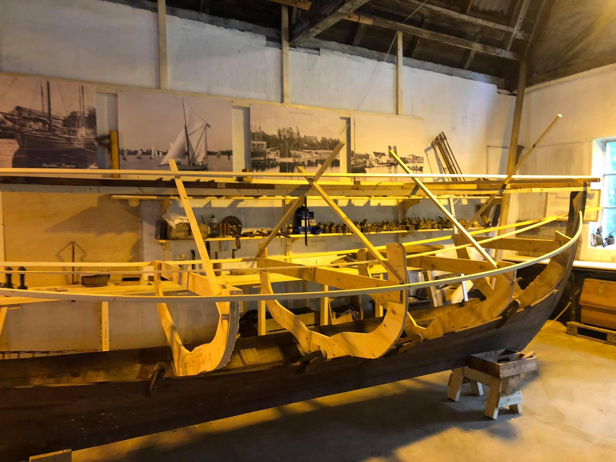 Stiftende møde i Foreningen for håndværkskultur og småbåde i Præstøs Støberihaller den 19. august