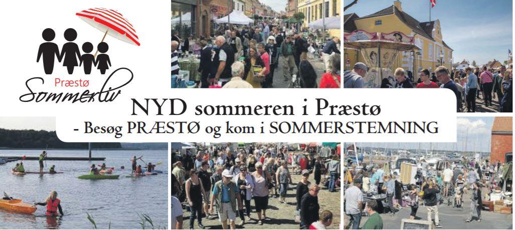 Nyd den sidste sommerlørdag i Præstø i dag