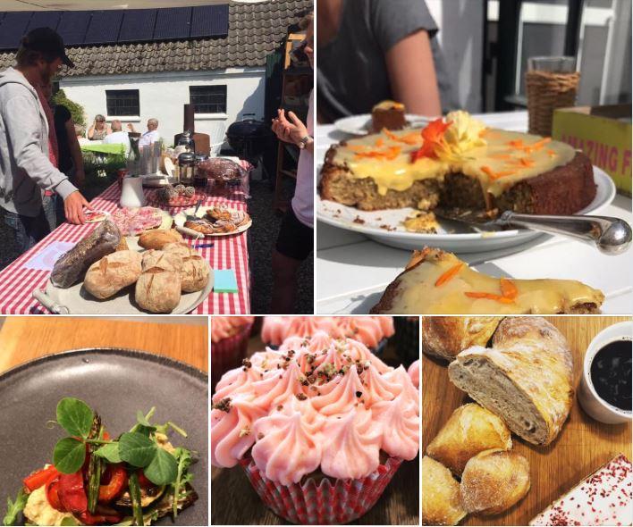 Loppemarked og økologisk gårdcafé hos Pia Prehn Søndag den 9. august 10-14:00